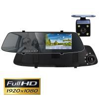 IS愛思 RV-11XW 4.3吋高畫質前後雙鏡頭觸控式後視鏡行車紀錄器