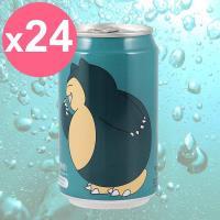 【Y.H.B】Ocean Bomb  Pokemon海洋深層氣泡水330ml x24入  耿鬼版(白葡萄風味)