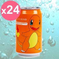 【Y.H.B】Ocean Bomb  Pokemon海洋深層氣泡水330ml x24入  可達鴨版(橘子風味)