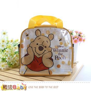 魔法Baby 便當袋 迪士尼小熊維尼授權正版提袋 f0329