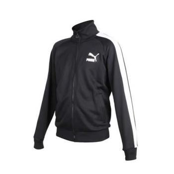 PUMA ICONIC T7 男流行系列立領運動外套-長袖上衣 慢跑