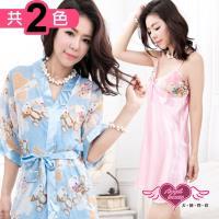 天使霓裳 甜蜜泰迪兩件式睡衣組(共兩色F) UD30367