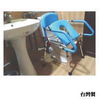 感恩使者 方便推臀椅 ZHTW1755(移動馬桶椅-無輪、可當馬桶扶手、洗澡椅 需自行簡易組裝)-台灣製