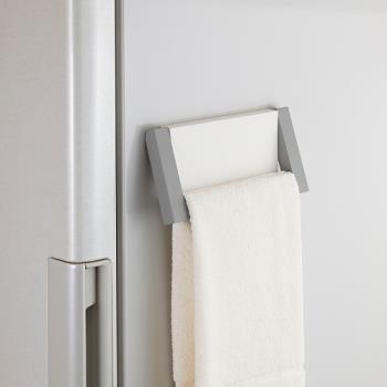 日本Belca磁吸式毛巾架-白