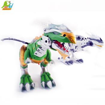 Playful Toys 頑玩具 機器恐龍6690(電動恐龍 智能走路 白色機器龍 發光 恐龍玩具)