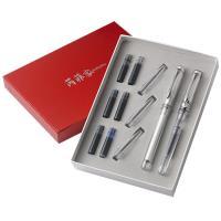 rarefatto芮菲客透明鋼筆/鋼珠筆 對筆禮盒組