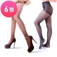 Beauty Fit 配搭網絲襪 超彈性全足設計(6雙)