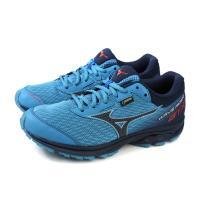 Mizuno WAVE RIDER GTX 美津濃 跑鞋 運動鞋 藍色 男鞋 J1GC187909 no080