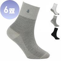 雪夫 CHAFER, 竹炭銀絹除臭紳士襪/西裝襪~6雙