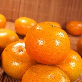 坤田水果 薄皮多汁套袋茂谷25A (1箱)單箱9斤30~33粒