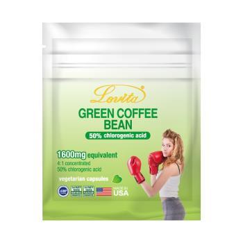 【Lovita 愛維他】綠咖啡400mg素食膠囊食品(7顆)