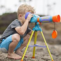 美國Educational Insights 小小探險家-第一個單筒望遠鏡