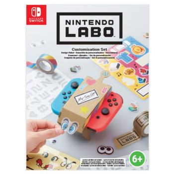 ★任天堂 Nintendo Labo Deco Set (紙膠帶,模板紙、貼紙) [台灣公司貨]