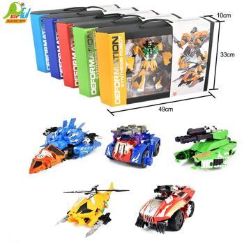 Playful Toys 頑玩具 變形金剛五款6008(單隻隨機出貨 酷炫變形金剛 五款造型 可組合 機器人玩具 變形機器人)