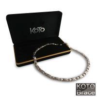 【KOTO】金銀雙色白鋼項鍊(P-137)