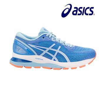 Asics 亞瑟士 GEL-NIMBUS 21 (D) 寬楦 女慢跑鞋 1012A155-400