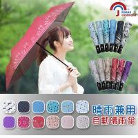 【Kasan】三折防風自動開收晴雨傘