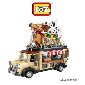 LOZ mini 鑽石積木-1116 熱狗餐車