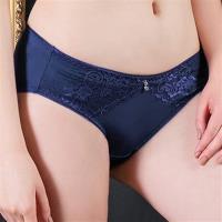 【EASY SHOP】皇室美姬 中腰三角褲(高貴紫)