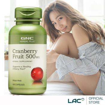 GNC健安喜 私密保養 蔓越莓膠囊100顆