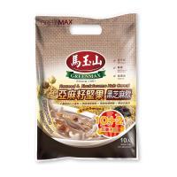 馬玉山 亞麻籽堅果黑芝麻飲(10入)+加量2小包