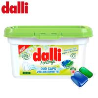 德國達麗Dalli  強力雙效洗衣膠囊14顆/盒
