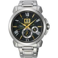 SEIKO精工 Premier 人動電能萬年曆限量手錶-42.9mm 7D56-0AF0G(SNP155J1)