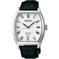 SEIKO 精工 Presage 日式庭園經典機械錶-白x黑/37mm 4R35-02V0Z(SRPD05J1)