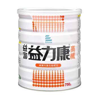 【益富】益力康高纖PLUS 高纖營養均衡配方 750gX6罐
