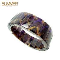 SUMMER寶石 天然紫鈦手排 80g 以上(隨機出貨)
