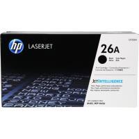【HP 惠普】26A 黑色原廠 LaserJet 碳粉盒(CF226A)