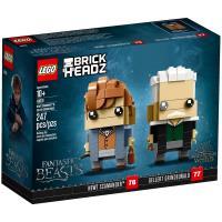 LEGO樂高積木 Brickheadz 積木人偶系列 - 41631 紐特·斯卡曼德 x 蓋瑞·葛林戴華德