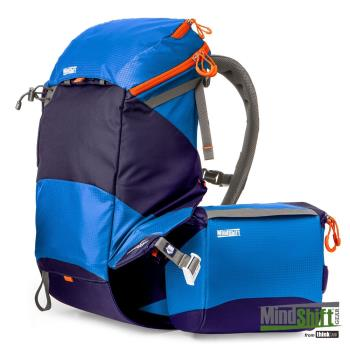 MindShift Gear曼德士 rotation180º® Panorama®全景攝影登山後背包22L 相機包-碧藍 MSG520221