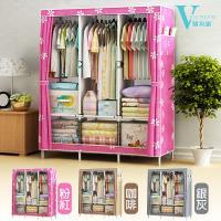VENCEDOR  簡易韓式加大DIY衣櫃130CM寬