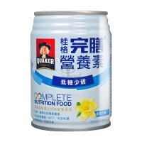 【QUAKER 桂格】完膳營養素 香草低糖 (250ml*24入/箱)X2箱