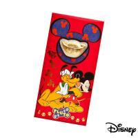 Disney迪士尼系列金飾-黃金元寶紅包袋-最佳拍檔款