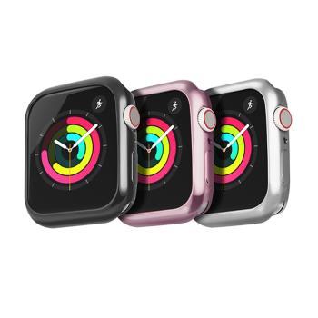 DUX DUCIS Apple Watch S4 (44mm) 電鍍 TPU 套組(贈透明))