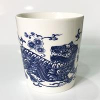 青花皇后楊莉莉-虎 生肖杯~正氣虎爺