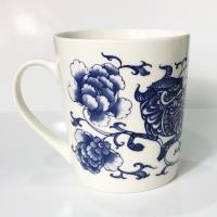 青花皇后楊莉莉-牛 生肖杯~春牧興農