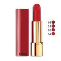 CHANEL 香奈兒 超炫耀的絲絨唇膏3.5g (色號01~04) 紅色限定版 聖誕限量