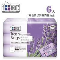 家簡塵除 薰衣草香氛環保清潔袋(大)*6入裝