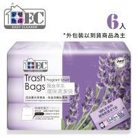 家簡塵除 薰衣草香氛環保清潔袋(中)*6入裝