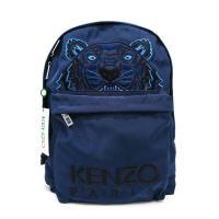 【KENZO】經典老虎刺繡帆布後背包 (深藍)