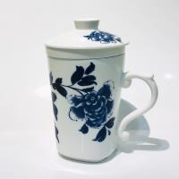 青花皇后楊莉莉-三件式濾杯~富貴如意