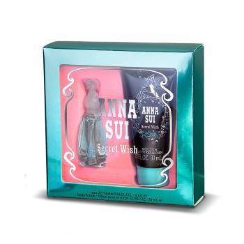 ANNA SUI 許願精靈浪漫香氛組-淡香水4ml+身體乳30ml