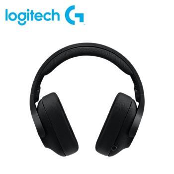 【logitech 羅技】G433 有線遊戲耳麥 宇宙黑