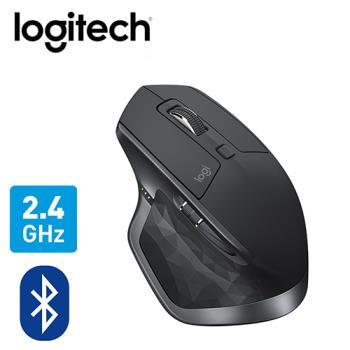 【logitech 羅技】MX MASTER 2S 無線滑鼠 黑 【贈收納購物袋】