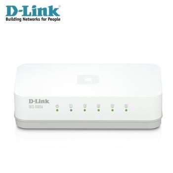 【D-Link 友訊】 DES-1005A 5埠網路交換器