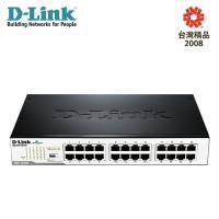 【D-Link 友訊】DGS-1024D 24埠Gigabit節能型交換器