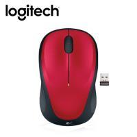 【logitech 羅技】M235 無線滑鼠 紅 【贈防蚊貼】